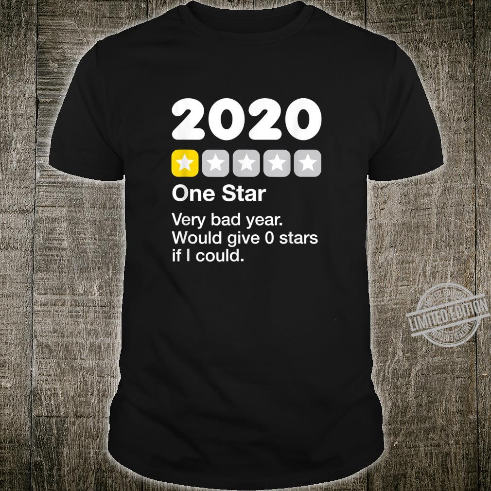 2020 One Star Rating Very Bad Would Not Recommend Dark Shirt