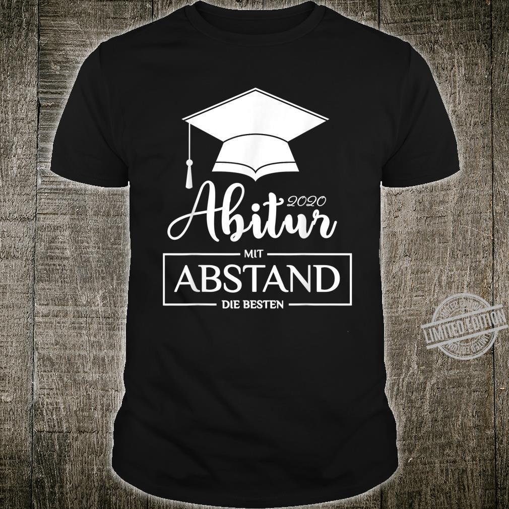 ABI 2020 Mit Abstand Die Besten Geschenk Abschluss Shirt