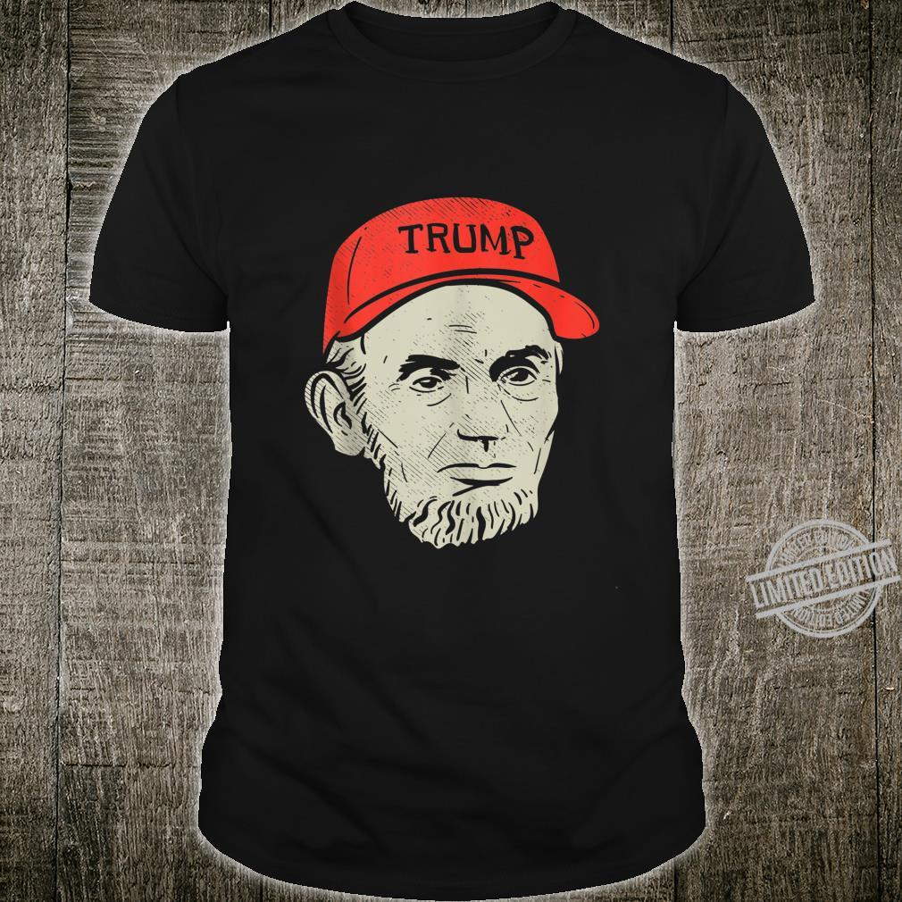 Abraham Abe Lincoln Trump Hat Support Donald GOP 2020 Shirt