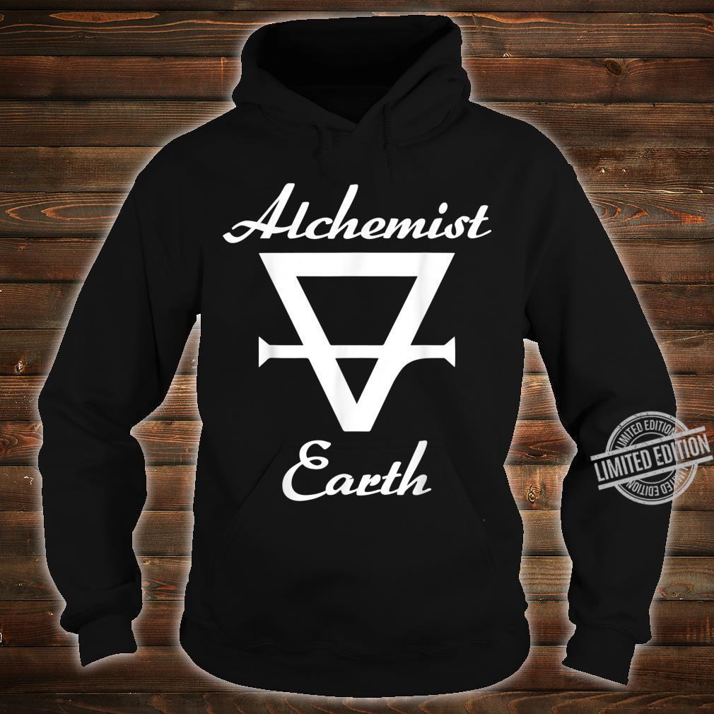Alchemy alchemist symbol for earth Shirt hoodie