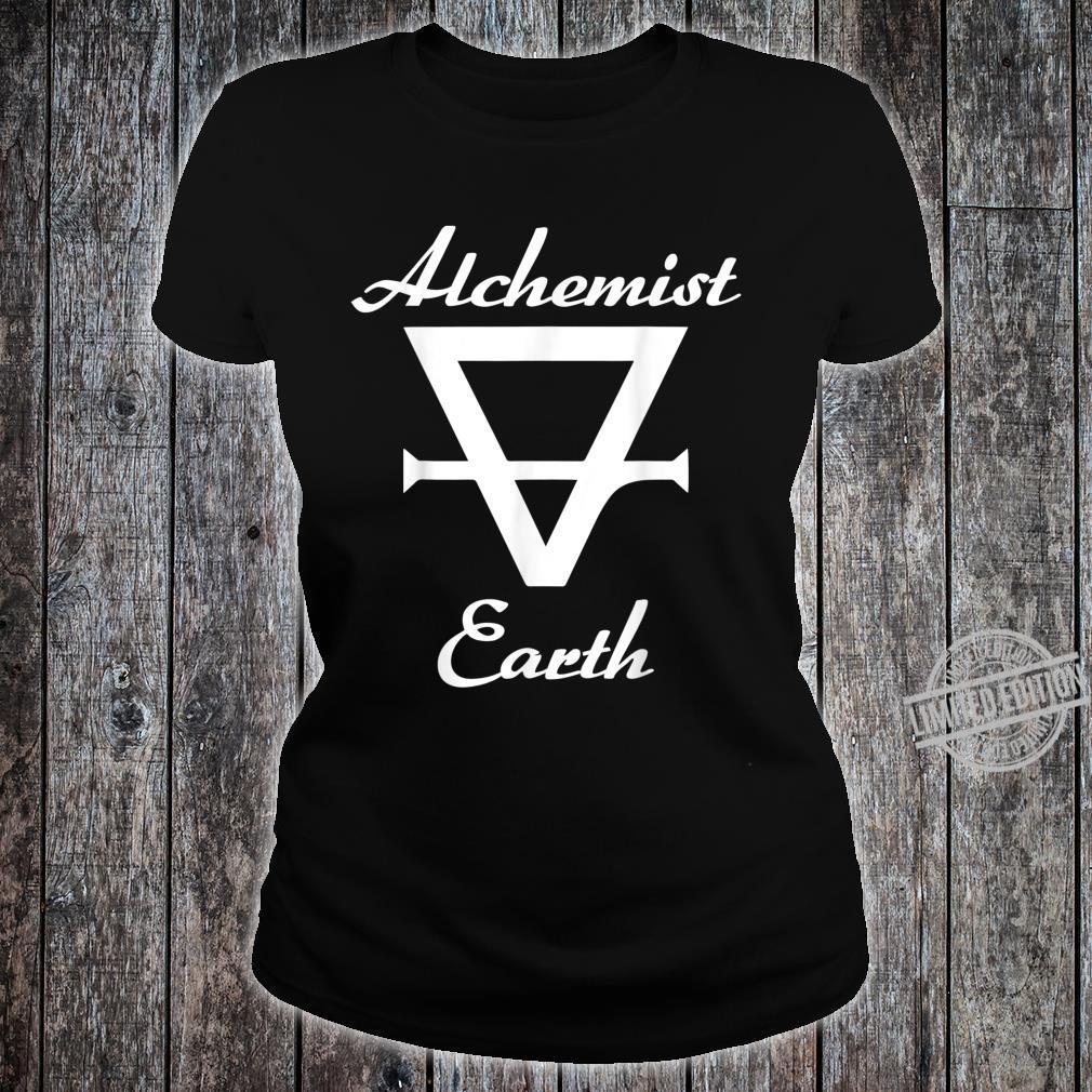 Alchemy alchemist symbol for earth Shirt ladies tee