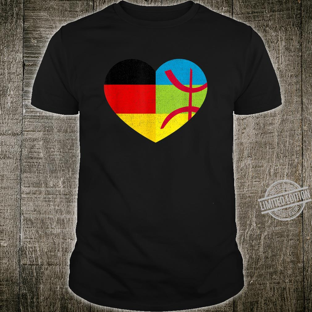 Amazigh Kabyle German Pride Tamazgha Deutschland Flag Shirt
