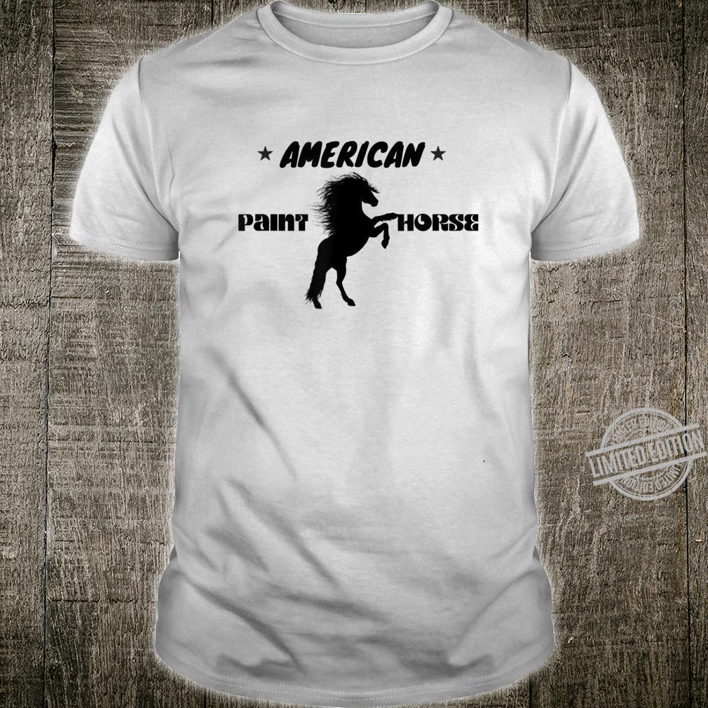 American Paint Horse Westernreiten Geschenk Shirt