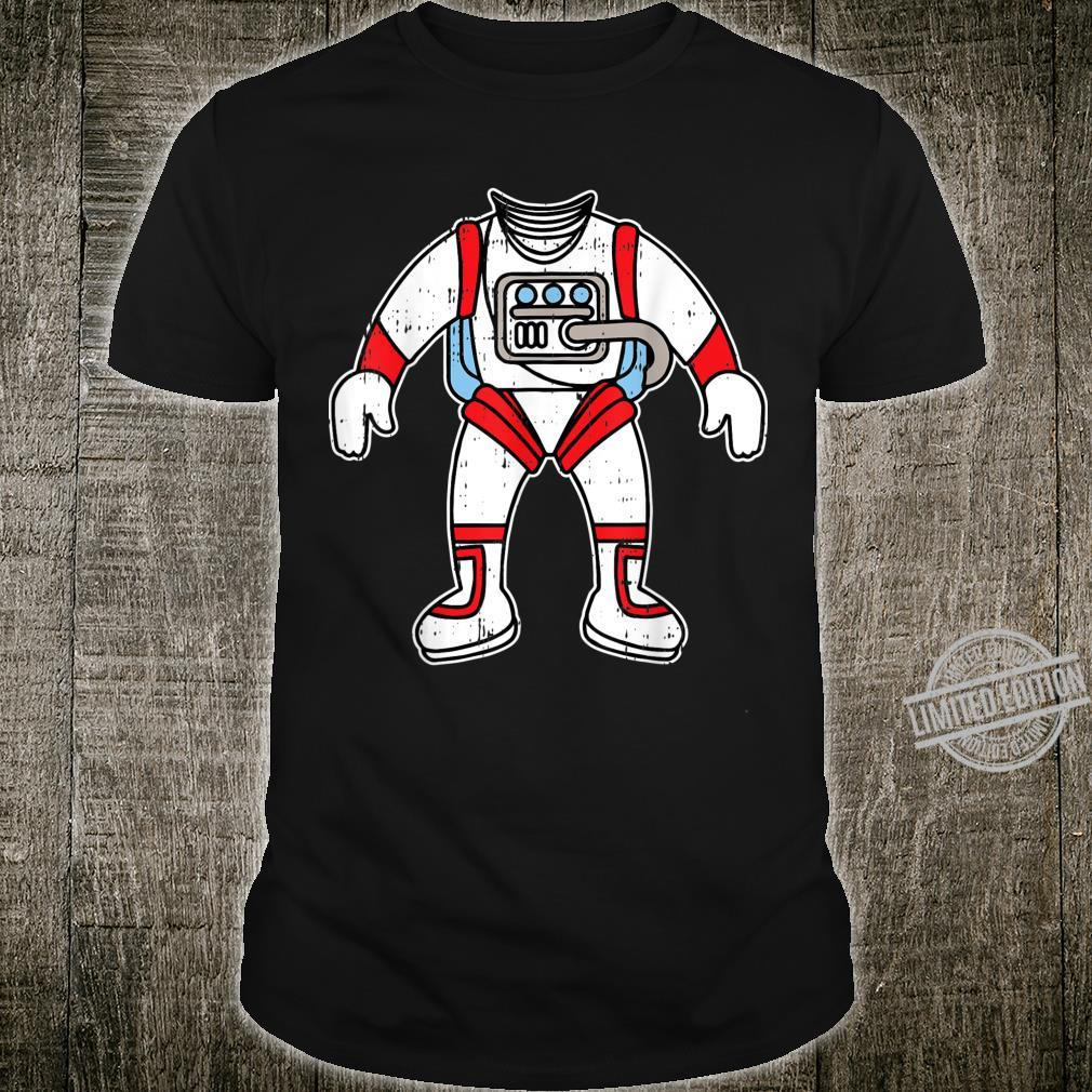 Astronaut Space Suit Spaceman Costume Easy Halloween Shirt