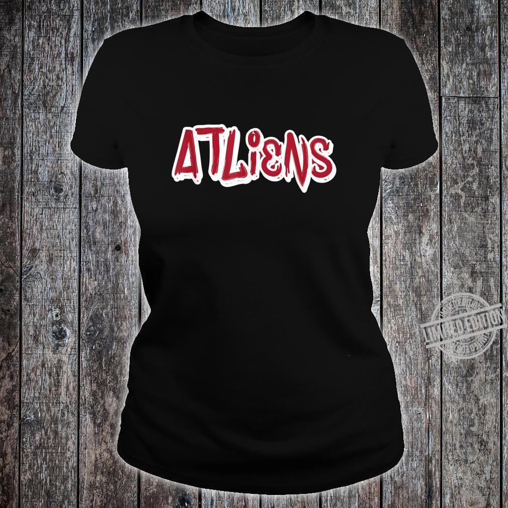 Atlanta ATLiens Shirt ladies tee