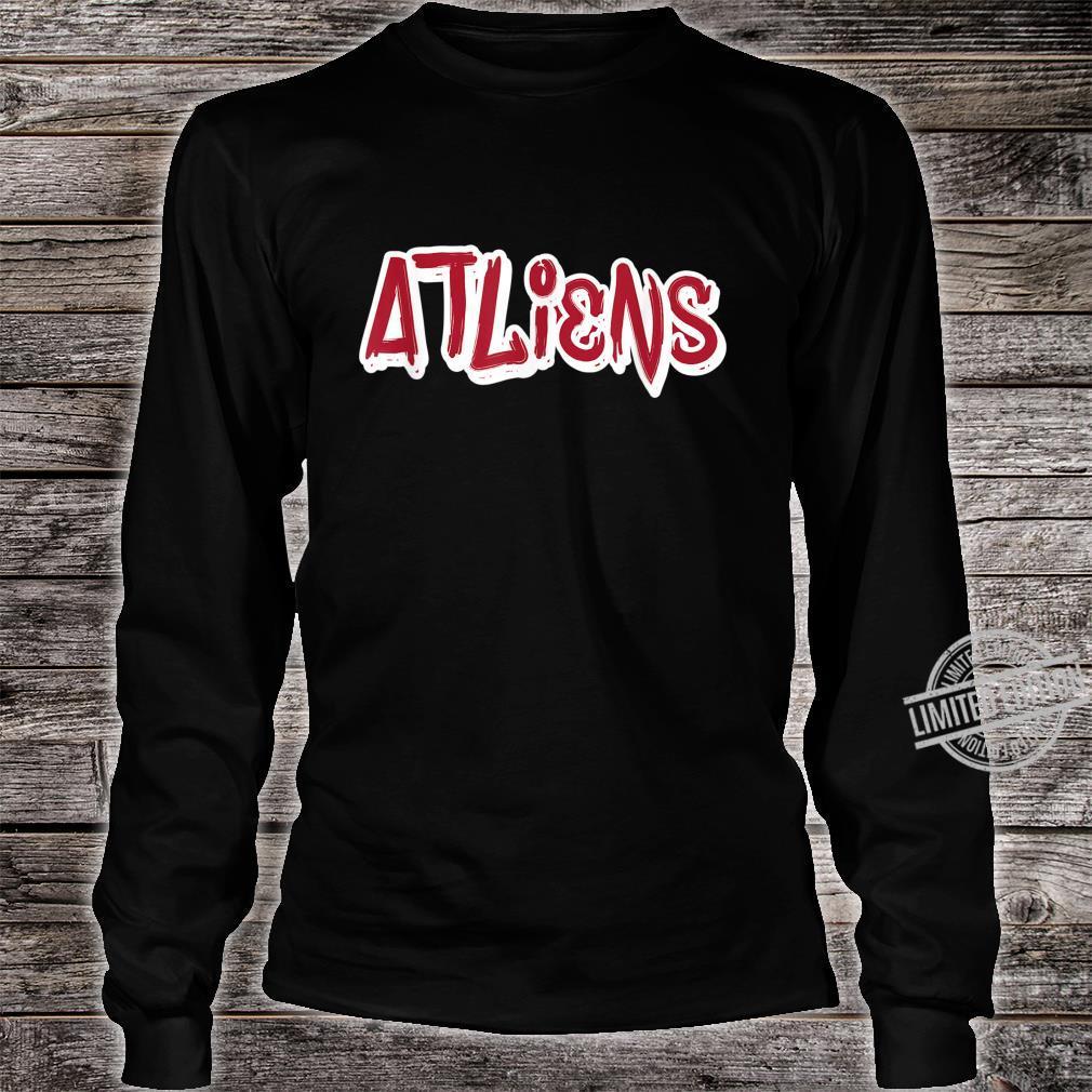 Atlanta ATLiens Shirt long sleeved