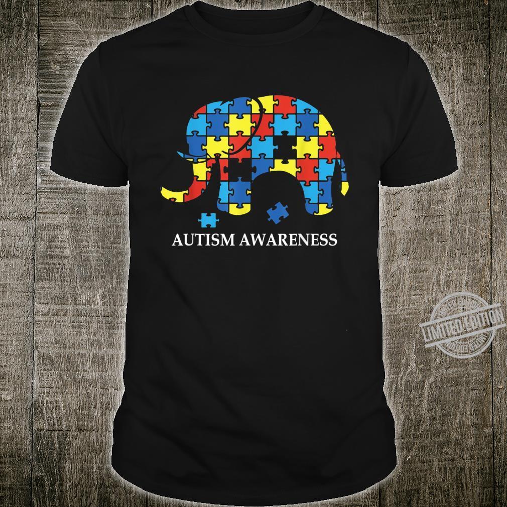 Autism Awareness Puzzle Elephant Perfect 2020 Shirt