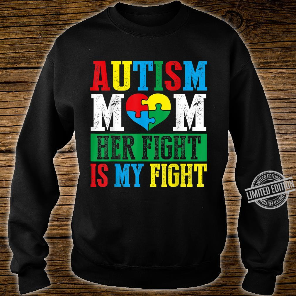 His Fight Is My Fight Autism Mom Tshirt Gift Ideas For Lover Men Women Birthday Party Friend Teens Matching Squad Autism Awareness