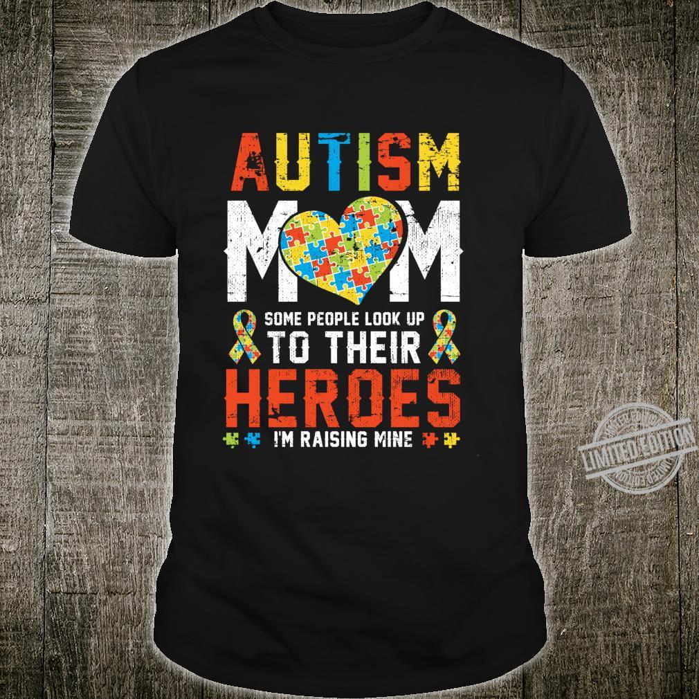 Autism Mom Puzzle Love Quotes Autism Aware Month April Shirt