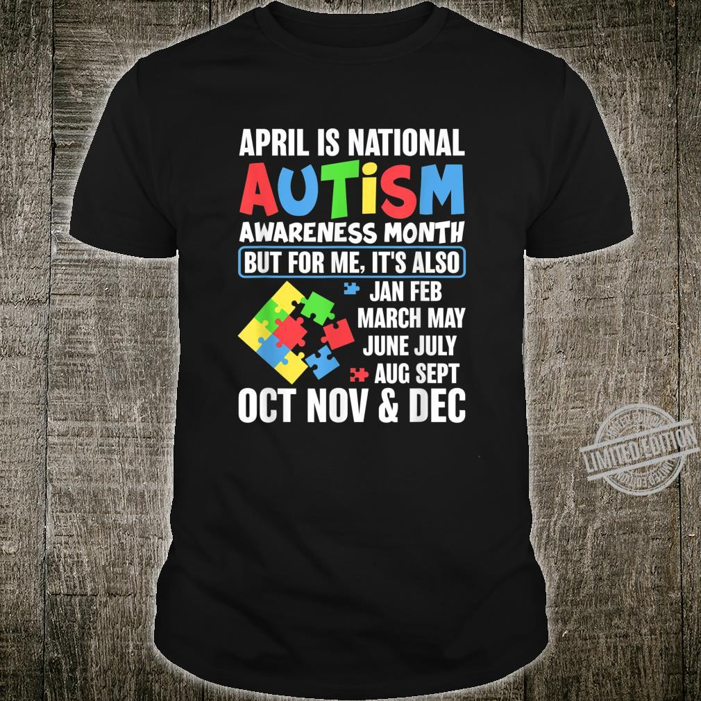 Autism Month Gift for Autism Mom or Teacher Autism Shirt