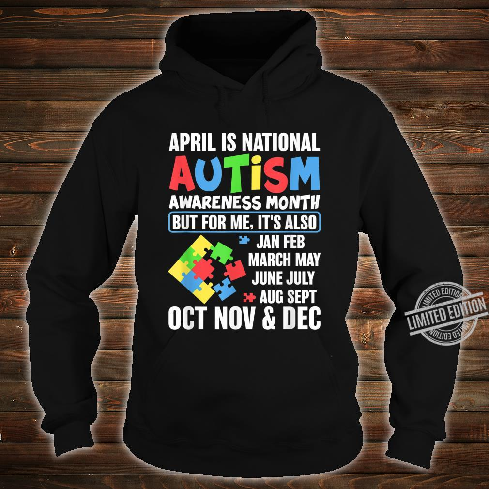 Autism Month Gift for Autism Mom or Teacher Autism Shirt hoodie
