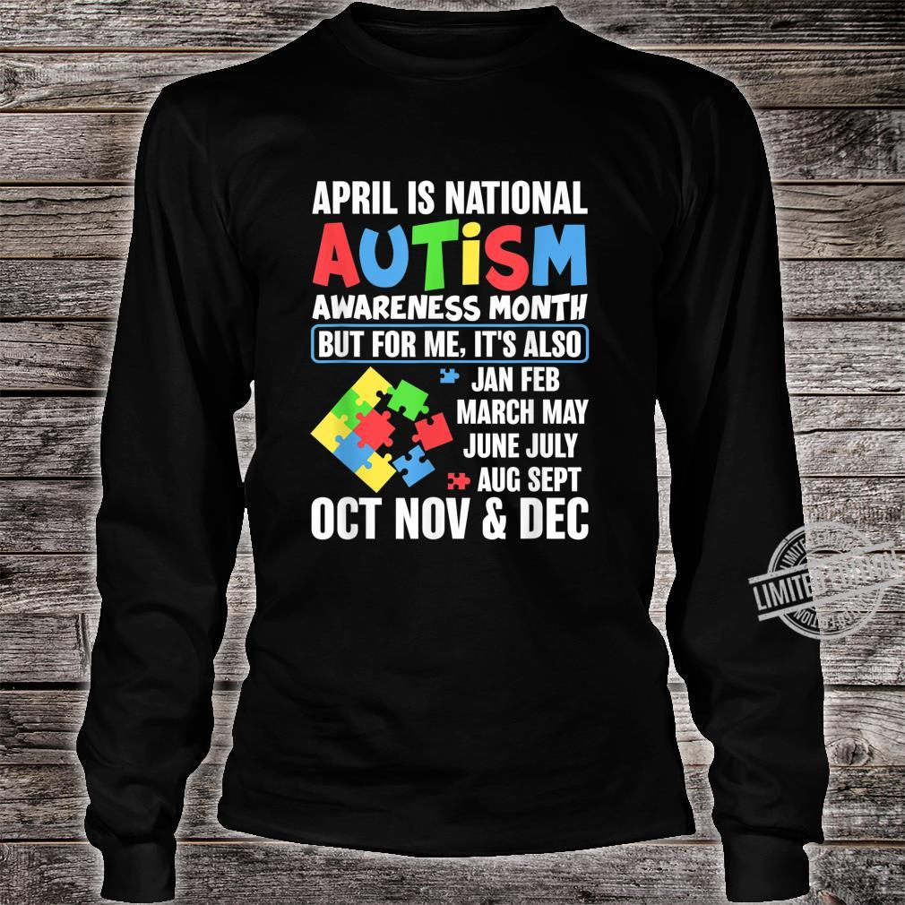 Autism Month Gift for Autism Mom or Teacher Autism Shirt long sleeved