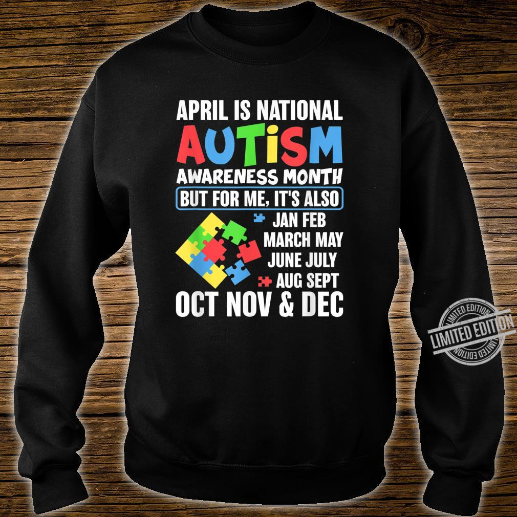 Autism Month Gift for Autism Mom or Teacher Autism Shirt sweater