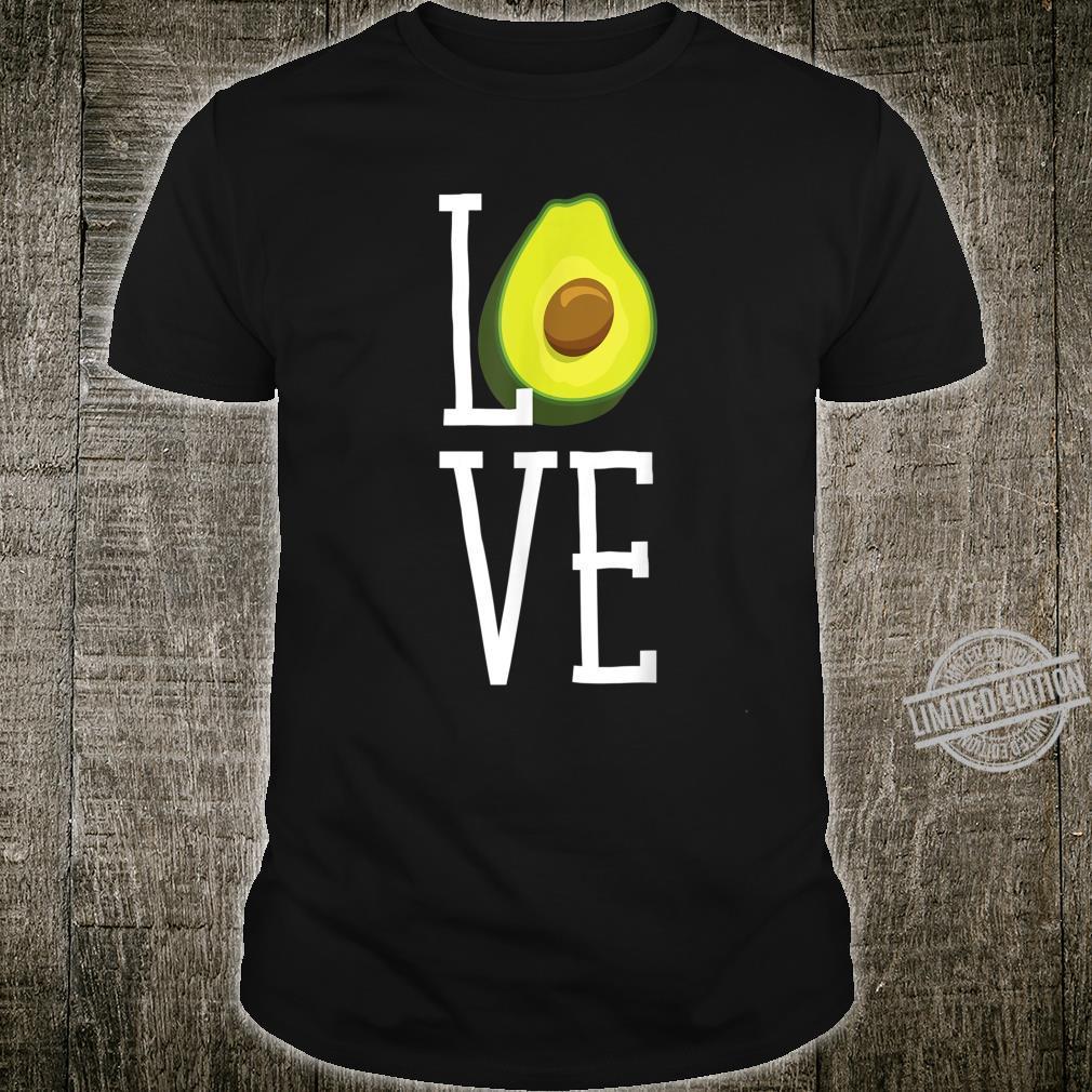 Avocado Love Guacamole Shirt