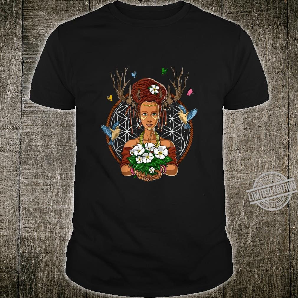 Ayahuasca Shaman Hippie Psychedelic DMT Fantasy Forest Witch Shirt