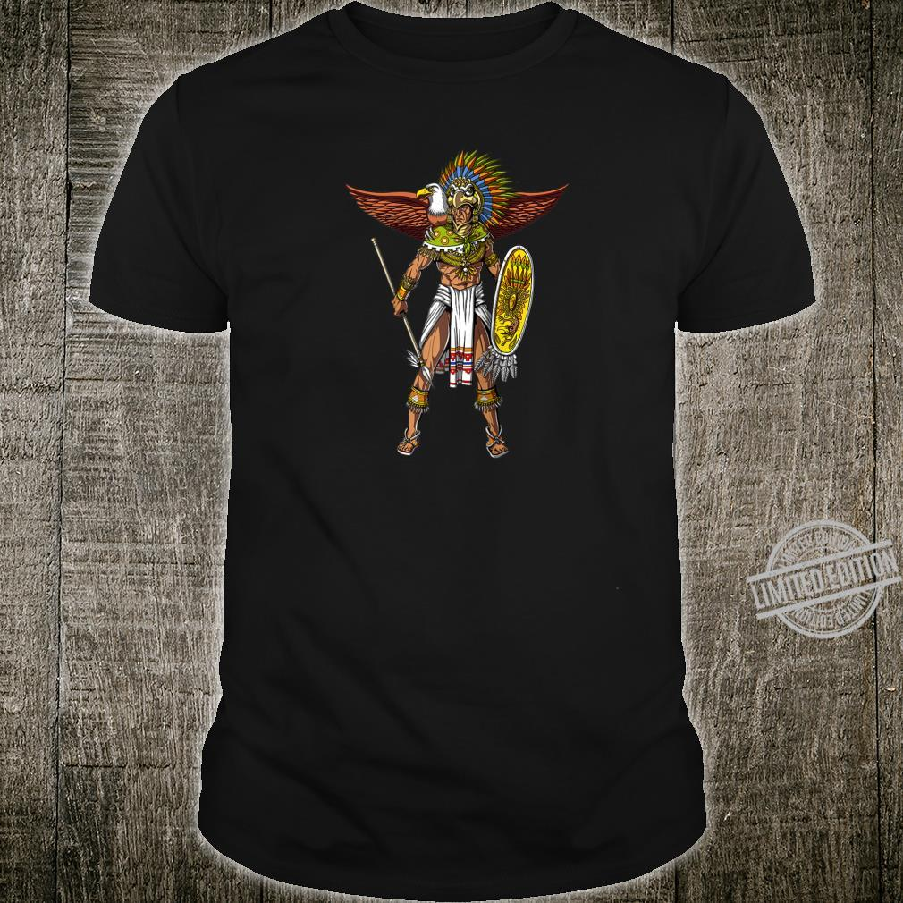 Aztec Eagle Warrior Native Mexican Shirt
