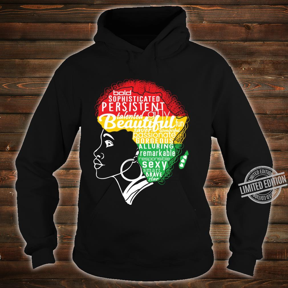 BEAUTIFUL IS IN MY AFRICAN DNA Natural Afro Pride Shirt hoodie