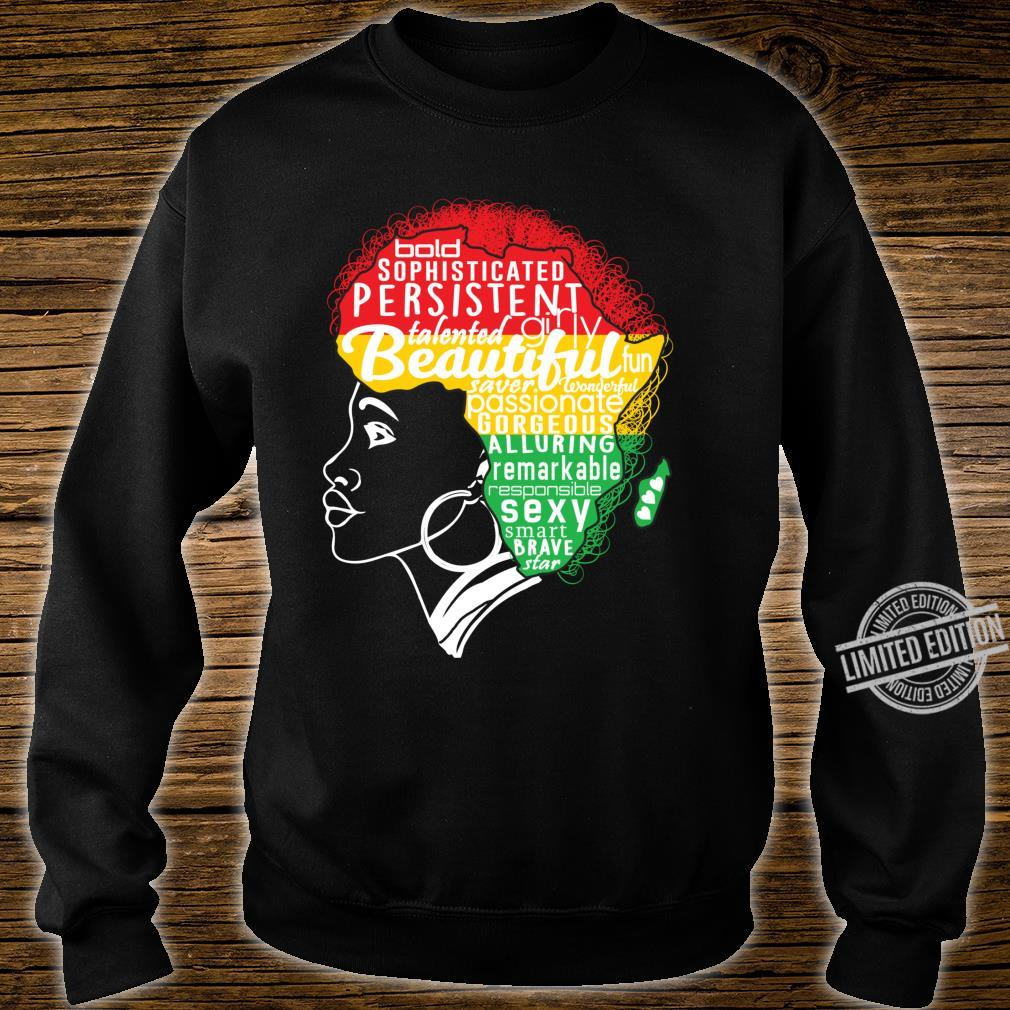 BEAUTIFUL IS IN MY AFRICAN DNA Natural Afro Pride Shirt sweater