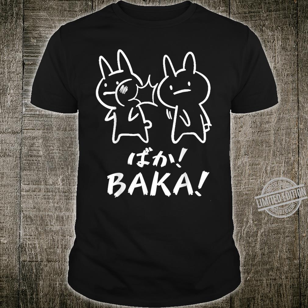 Baka Anime Süßer Hase Lustiges Japan Anime und Manga Shirt