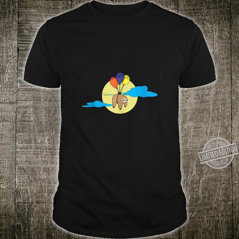 Balloon Sloth cute Shirt
