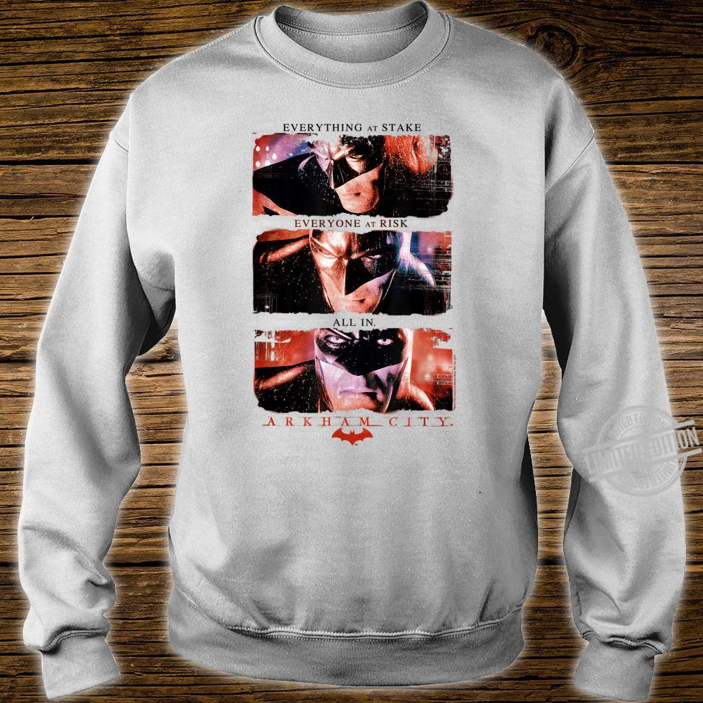 Batman Arkham City All In Shirt sweater