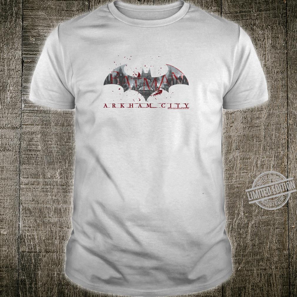 Batman Arkham City Bat Fill Shirt