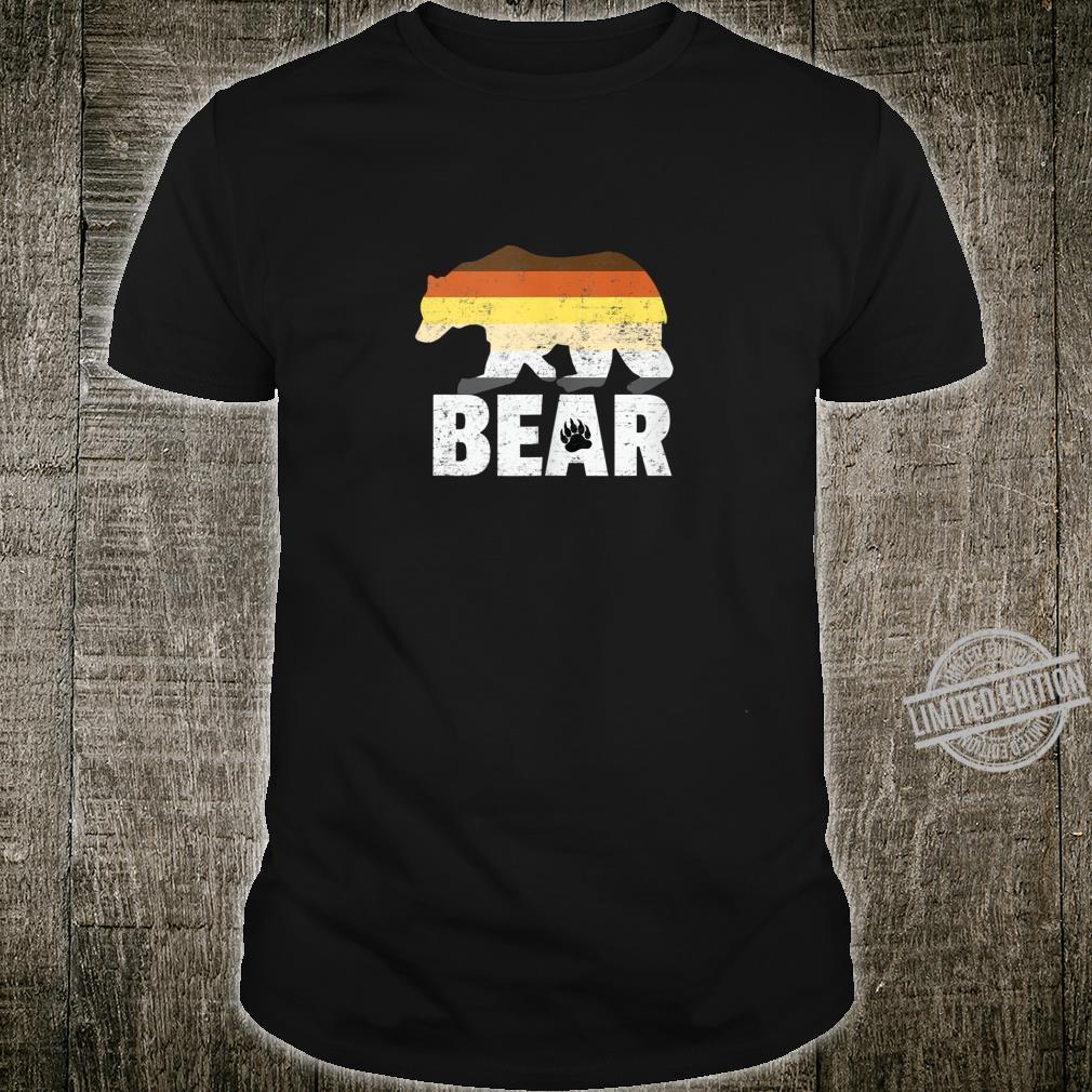 Bear Flag Gay Pride LGBTQ Party Shirt