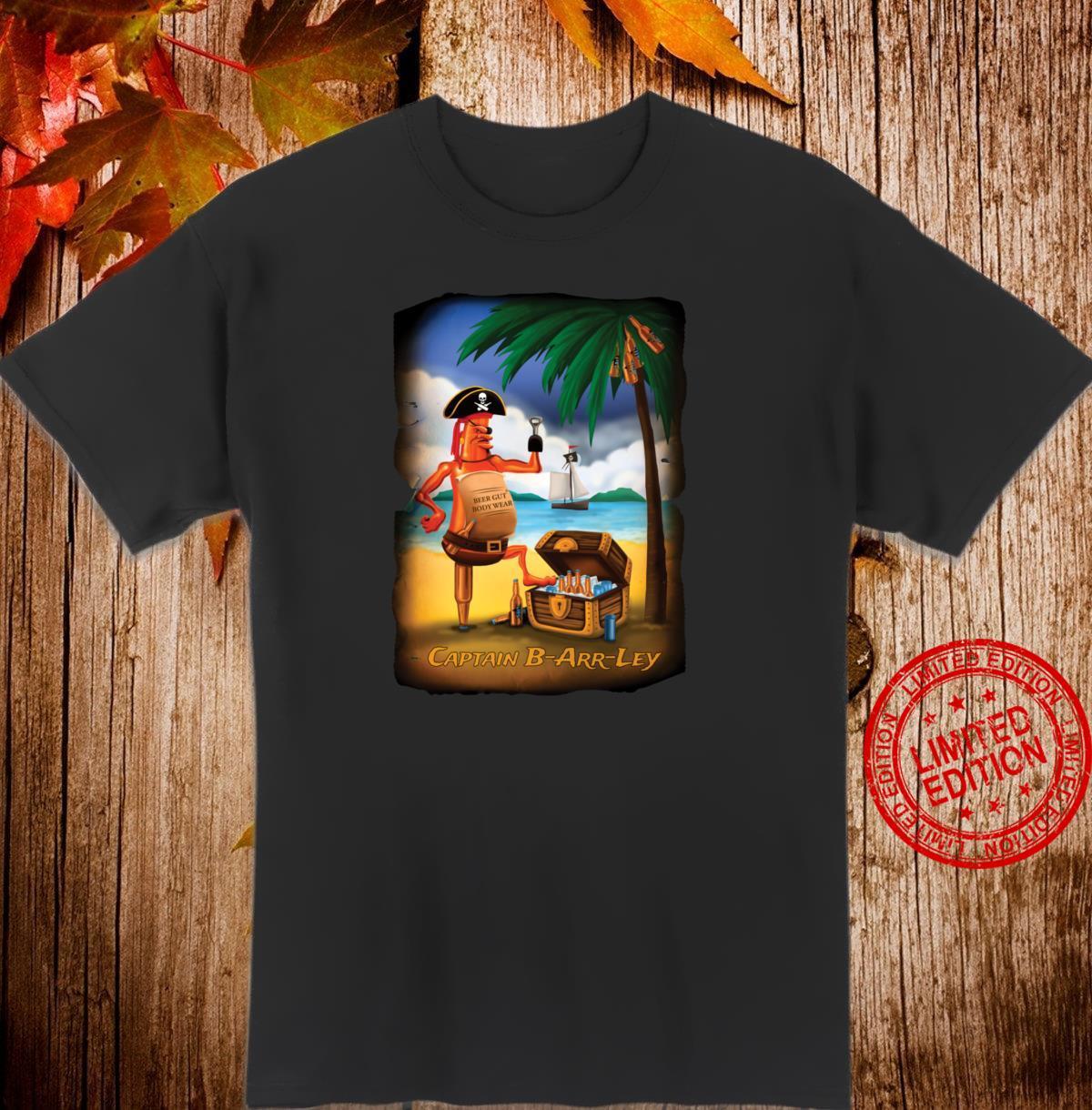 Beer Gut Body Wear Captain Barrley Shirt