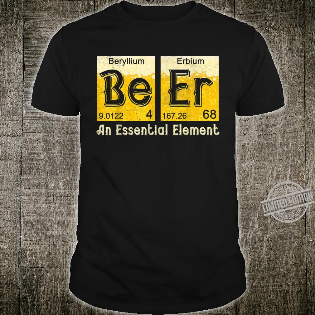 Beer Periodic Table Elements Spelling Drinking Beer Shirt