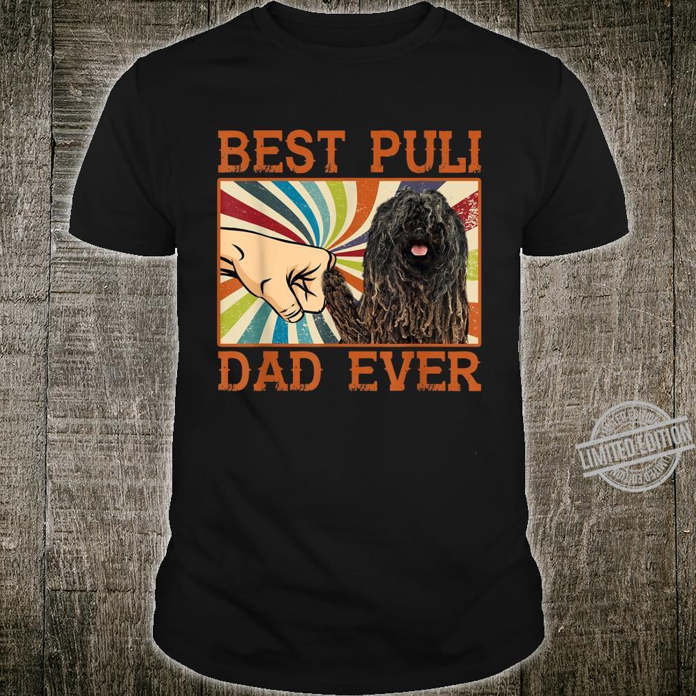 Best Puli Dad Ever Retro Vintage Shirt