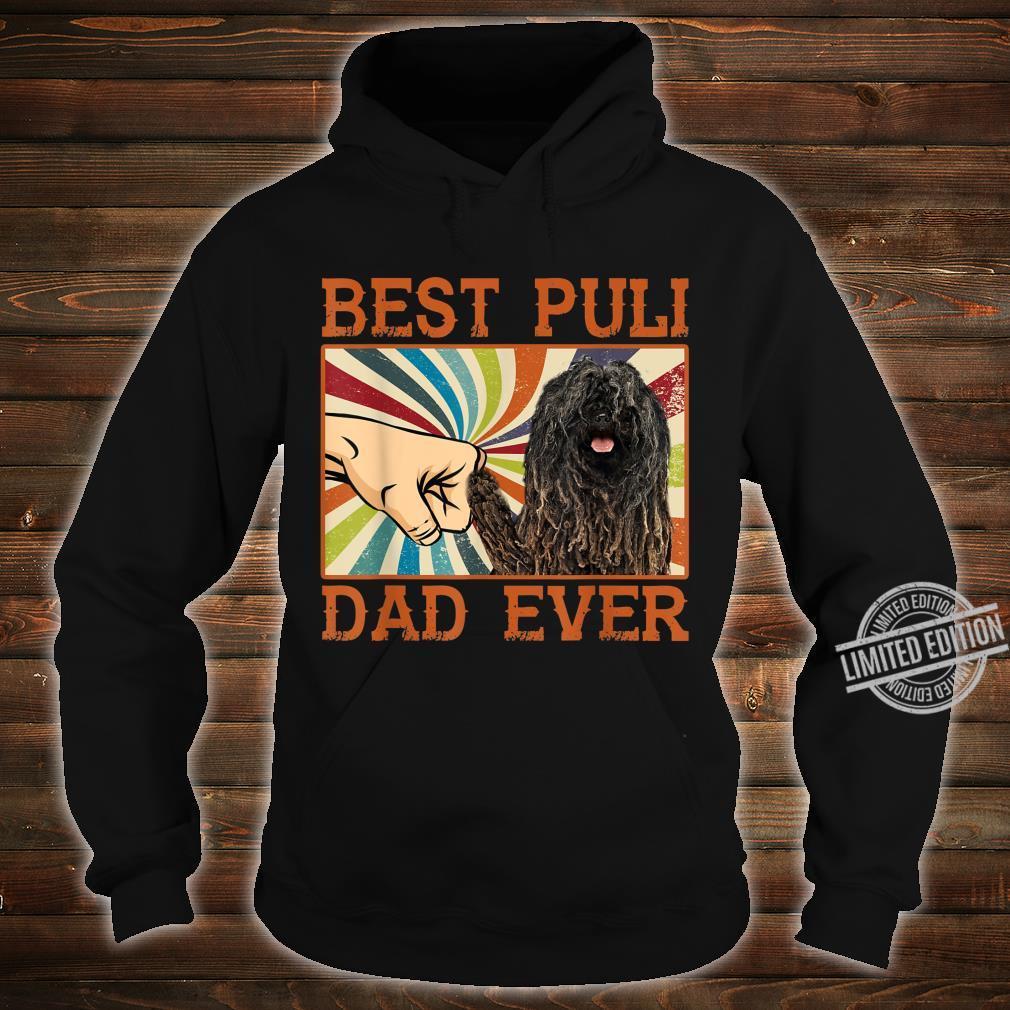 Best Puli Dad Ever Retro Vintage Shirt hoodie