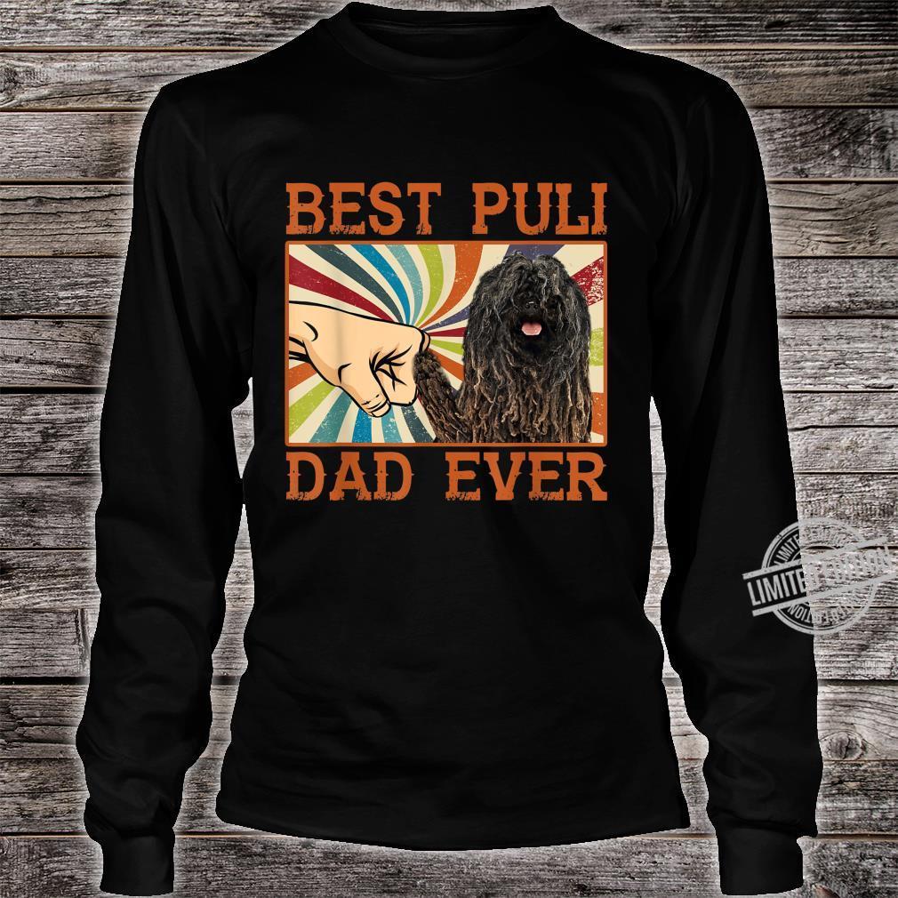 Best Puli Dad Ever Retro Vintage Shirt long sleeved