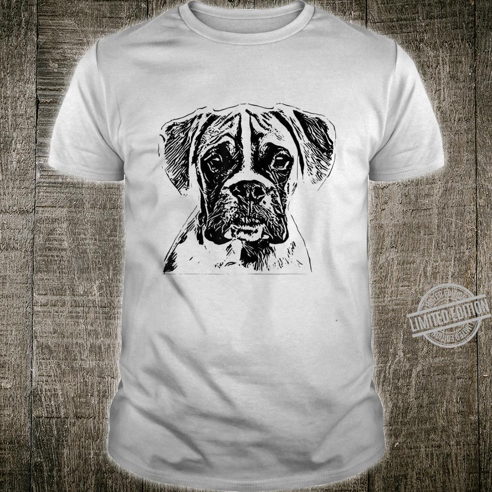 Boxer Shirt Dog Pet Man Children's Shirt