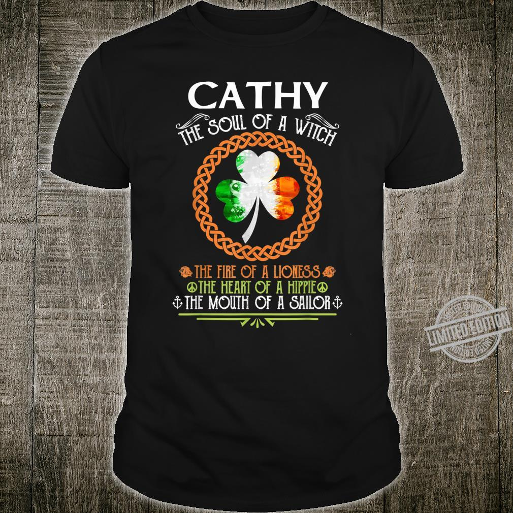 CATHY the soul of a witch mermaid st patricks day Shirt