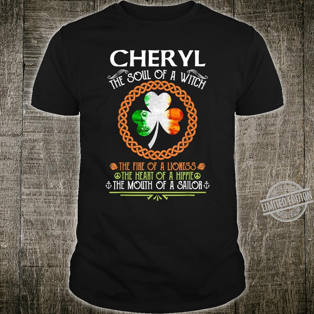 CHERYL the soul of a witch mermaid st patricks day Shirt