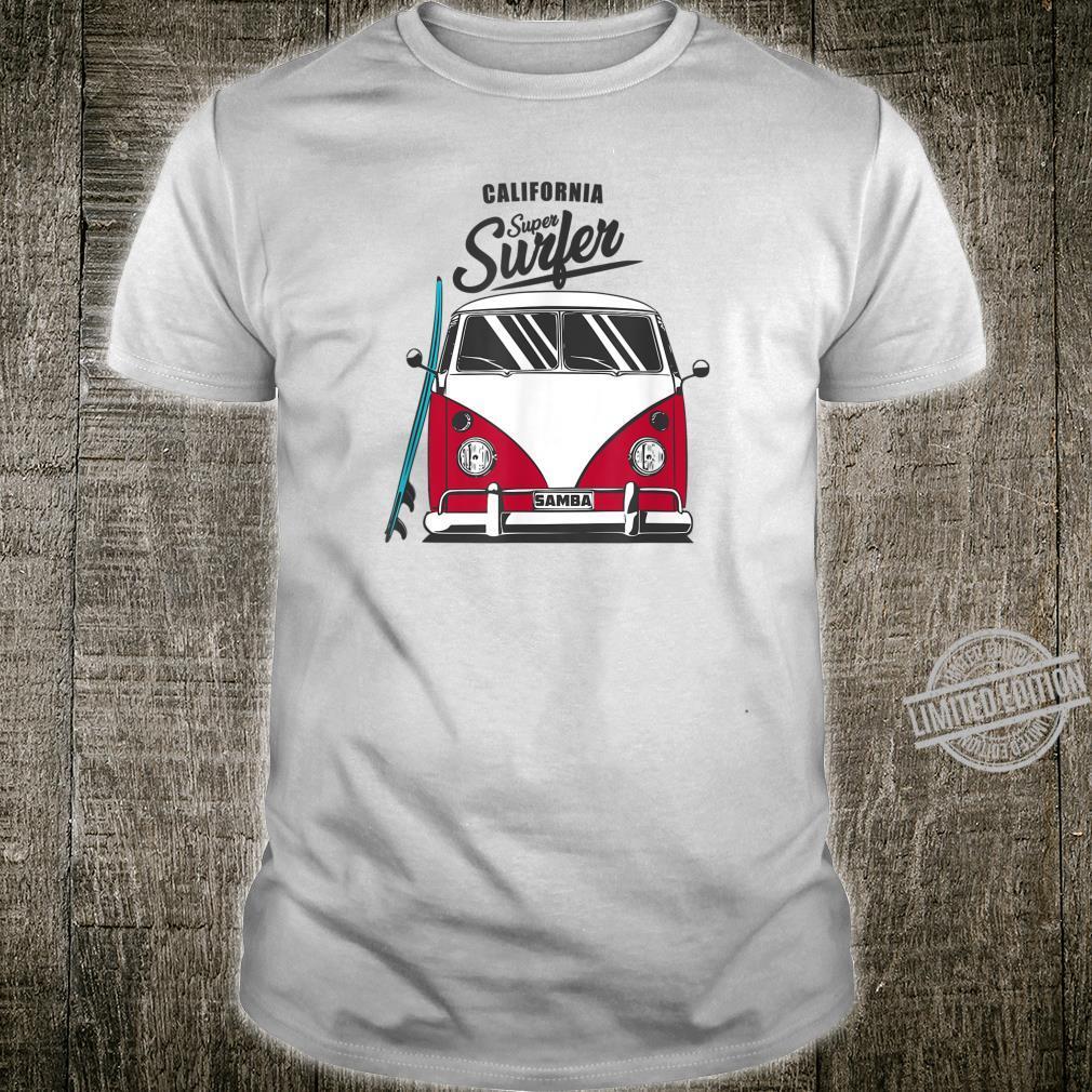 California Super Surfer Van Bus Car California Love LGBT Shirt