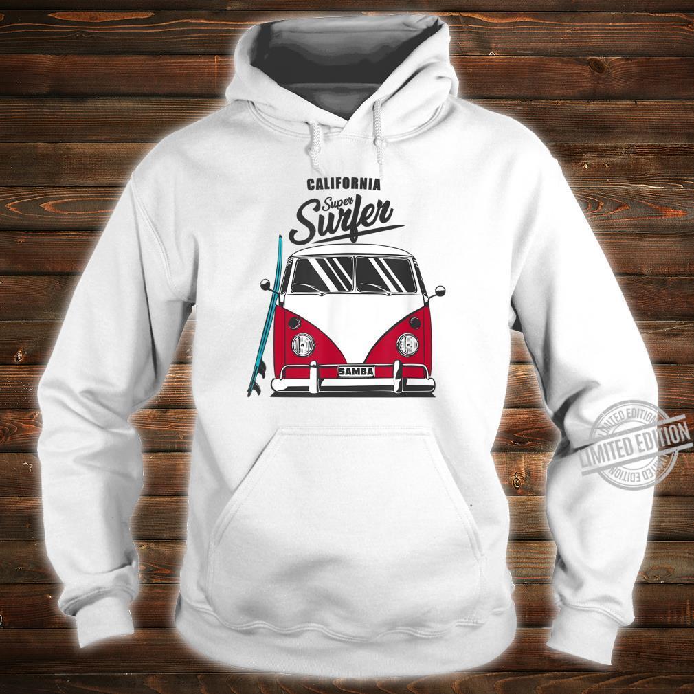 California Super Surfer Van Bus Car California Love LGBT Shirt hoodie