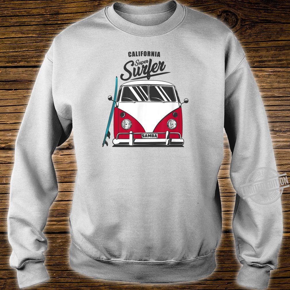 California Super Surfer Van Bus Car California Love LGBT Shirt sweater