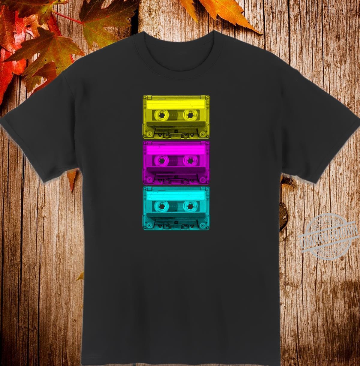 Cassette Tape Mixtape Retro Music 80s Vintage Shirt
