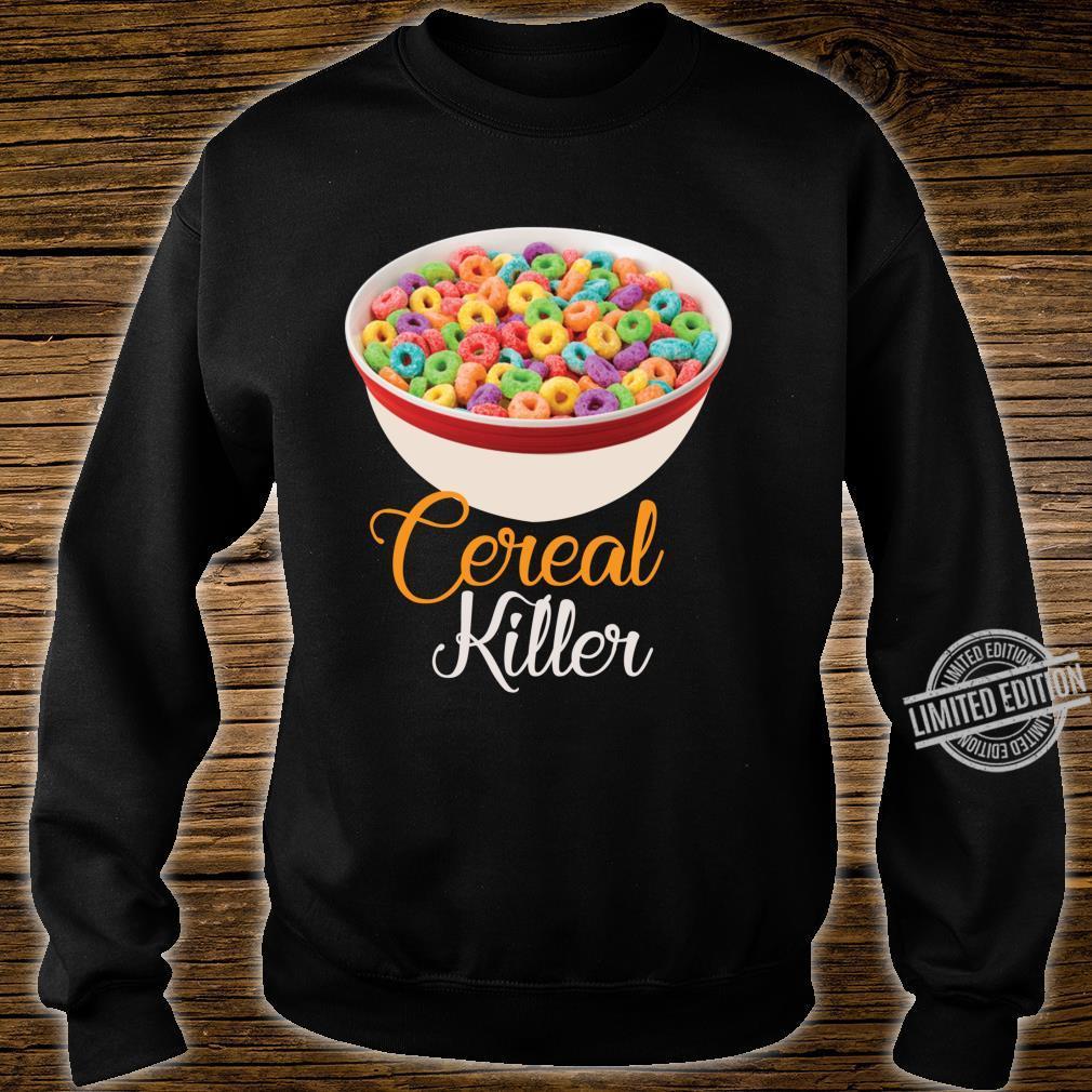 Cereal Killer Breakfast Shirt sweater