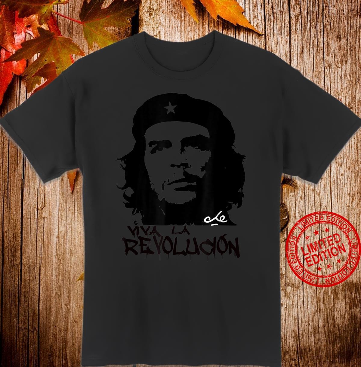 Che Guevara Viva La Revolucion Revolution Shirt