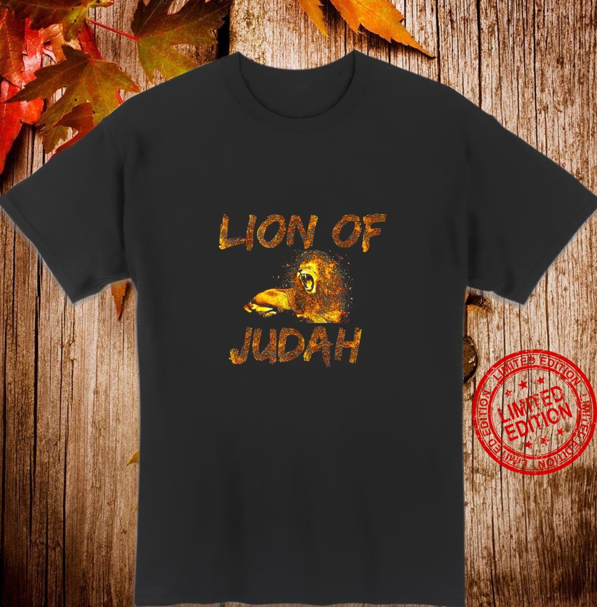 Christian Artwork Lion Art Drawing Lion of Judah Shirt