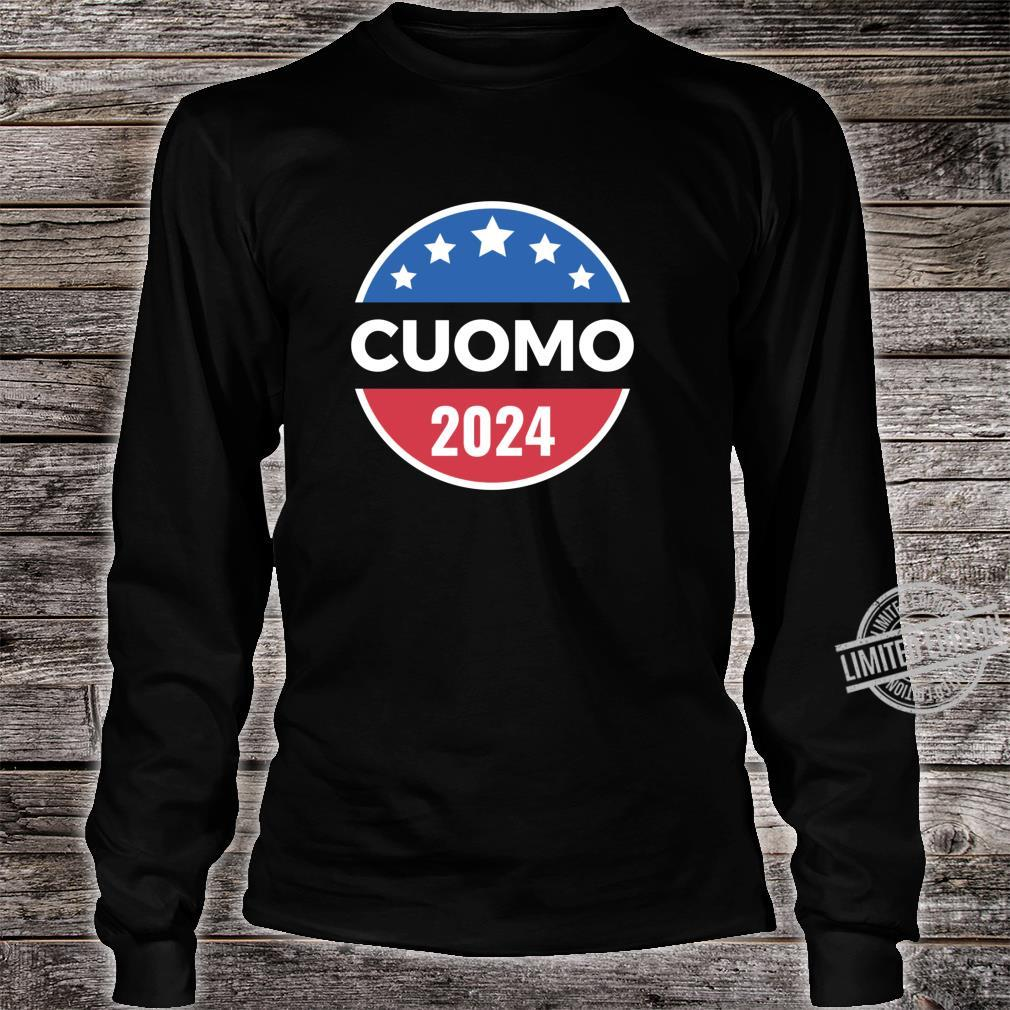Cuomo Retro Button Style Shirt long sleeved