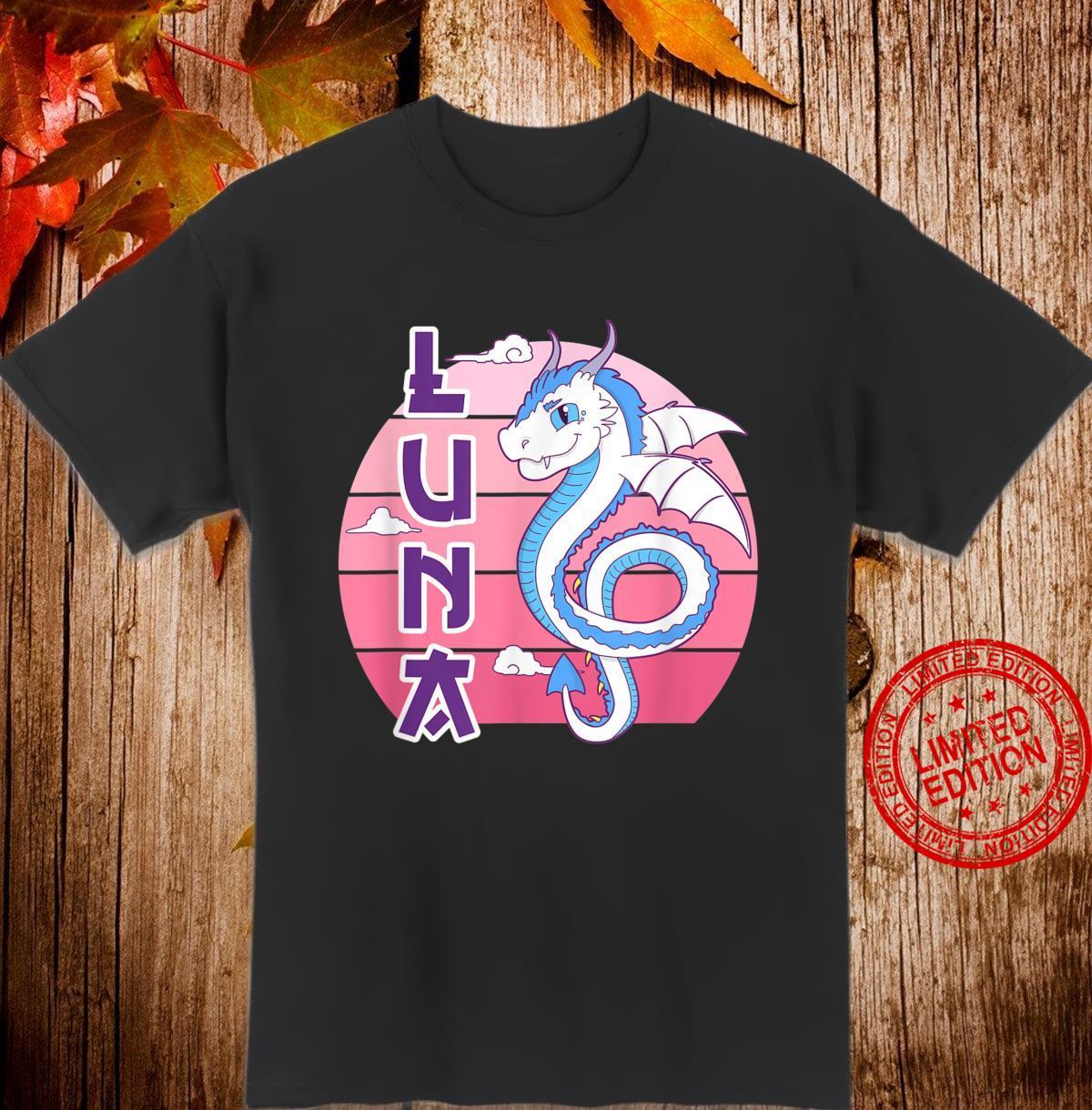 Cute Dragonpets Drachenpuppe Luna Fursuiter Cosplayer Shirt