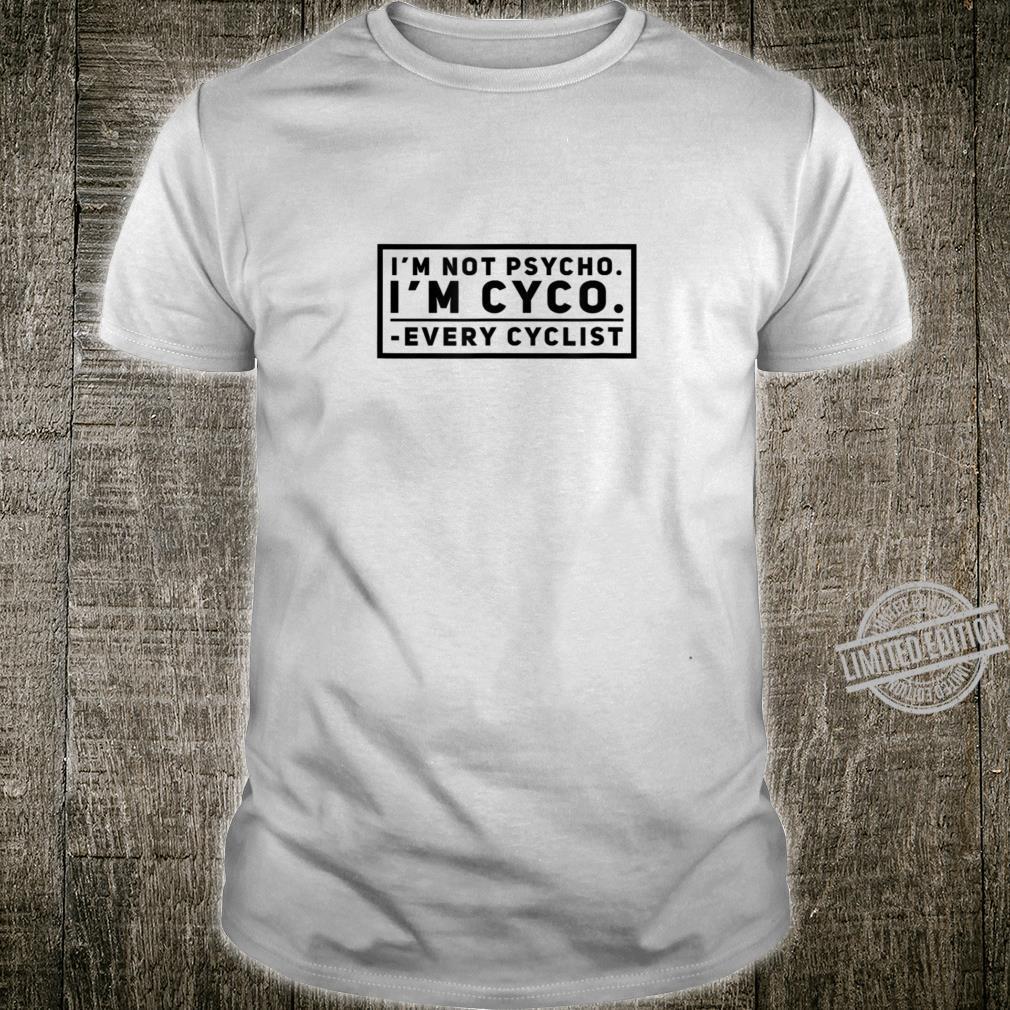 Cycling PsychoCyco Shirt