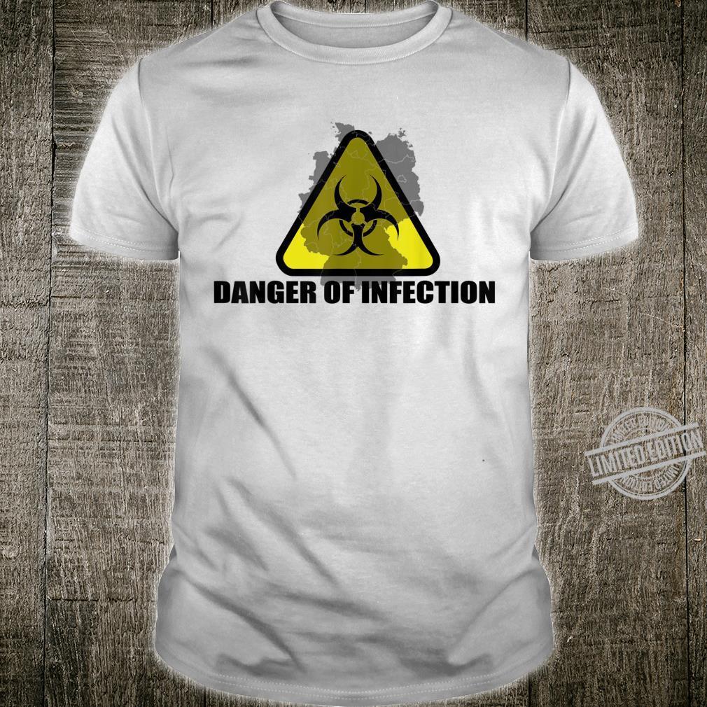 Danger Of Infection Virus Protection Respiratory Idea Shirt