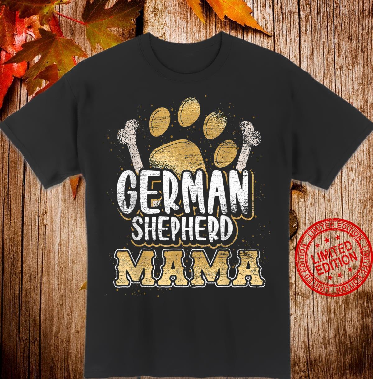 Deutsche Schäferhund Mama Shirt
