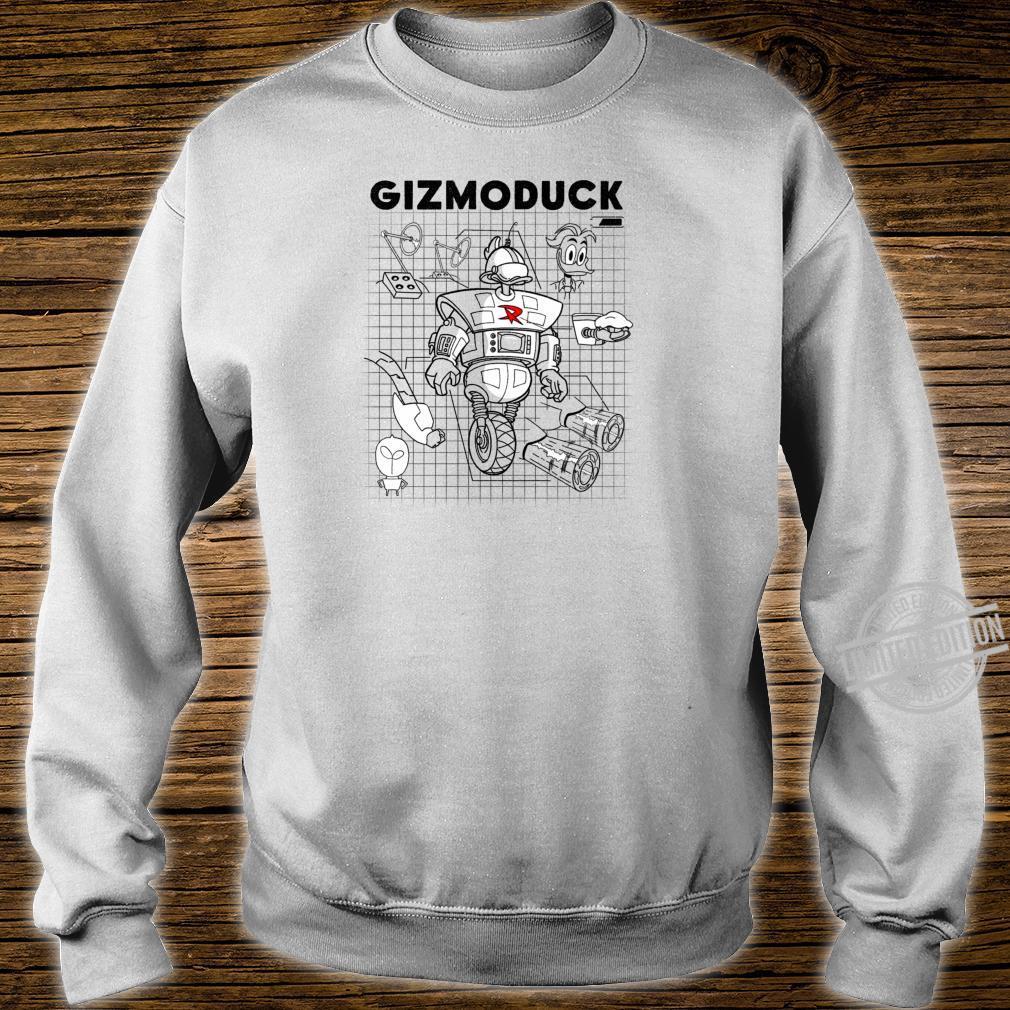 Disney DuckTales Gizmoduck Schematics Shirt sweater