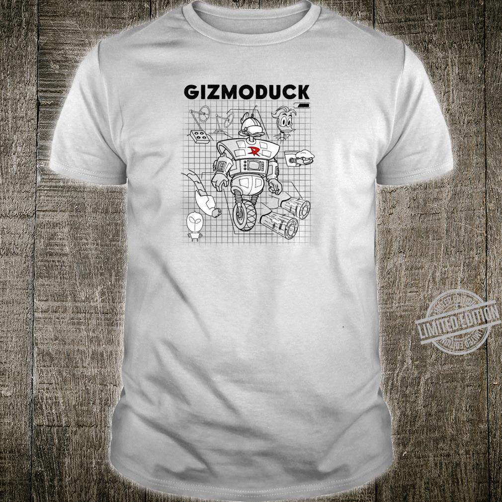 Disney DuckTales Gizmoduck Schematics Shirt