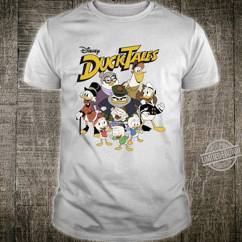 Disney DuckTales Modern Group Shot Logo Shirt